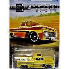 Hot Wheels Chevy Trucks 100 Years - Custom 1962 Chevy Pickup Truck ...