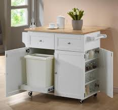 Kitchen Cart With Doors Kitchen Island Cart Dining Table John Thomas Microcart Stainless