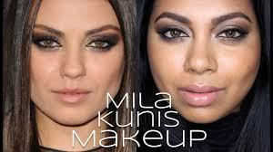 mila kunis makeup tutorial yazmakeupartist