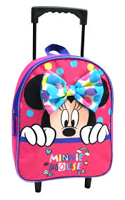 Disney Trolley Backpack Minnie Mouse Girls 6 Liters Pink Internet Toys