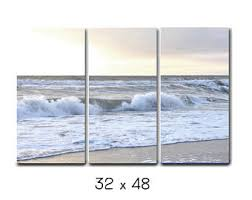 3 piece wall art beach canvas photography white grey ocean canvas split extra large wall art tryptich 3 panel wall art nautical decor on 3 panel wall art beach with 3 panel wall art nature 3 piece wall art cherry blossom