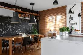 Chalkboard In Kitchen Living Dining Kitchen Room Design Ideas And Kitchen Pantry Design