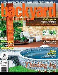 Small Picture Backyard Garden Design Ideas Magazine Issue 104 Download PDF