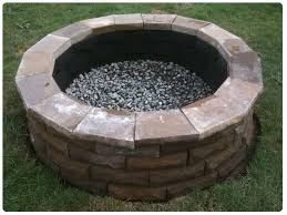 our cement paver fire pit