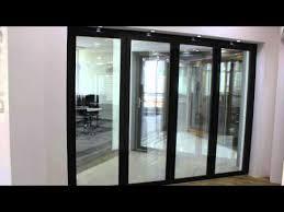 fd75 frameless glass bi fold door