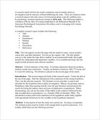literature review outline template sample example   research literature review outline template