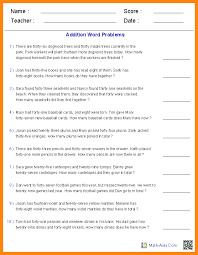 10+ 5th grade math word problems | math cover