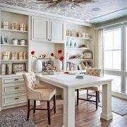 ceiling lights for home office. home office ceiling light traditional with nailhead trim tufted chair white vases lights for