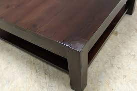 Parsons Square Coffee Table Square Parsons Coffee Table In Espresso Ecustomfinishes