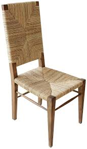 the nantucket is a clic natural dining chair perfect for the coastal dining room or kitchen nook
