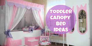 Little Girl Bedroom Ideas and Adorable Canopy Beds for Toddler Girls ...