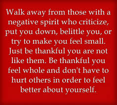 criticizing other people dont make you better quotes