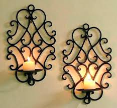 candle holders wall sconce metal wall sconce candle holder metal sconces with candles wall sconce candle holder brown for