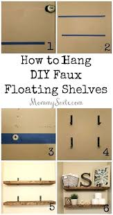 diy floating shelf faux floating shelves inexpensive and great quality i want these shelves in every diy floating shelf