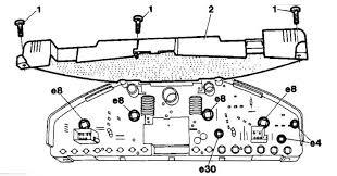 mercedes benz w Контрольные лампы и сигнальные индикаторы  Контрольные лампы и сигнальные индикаторы приборного щитка детали установки mercedes benz w140