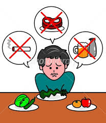 厳しい食事制限 イラスト素材 [ 2070088 ] - フォトライブラリー photolibrary