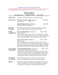 Student Resumes Template Nursing Student Resume Clinical Experience 011 Template