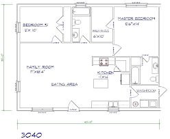 30 x 40 floor plans