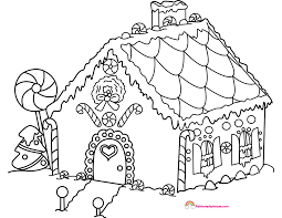 gingerbread house coloring sheet gingerbread house coloring page rainbow playhouse coloring pages