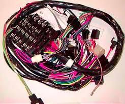 1974 nova dash harness w gauges audio electrical & dash harness nova wiring harness 1974 nova dash harness with gauges