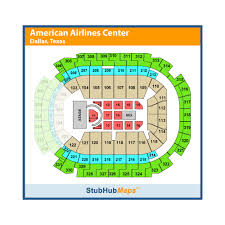 American Airlines Center Seating Chart Concerts American Airlines Center Events And Concerts In Dallas
