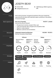 Kickresume 50 Professional Resume Templates Download Your