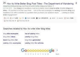 How To Write Killer Blog Titles That Convert Catchy Ideas And Examples
