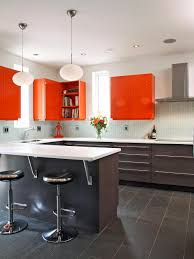 Orange And White Kitchen 25 Colorful Kitchens Hgtv