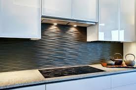 unique grey kitchen backsplash