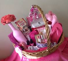 Gift Basket Wrapping Ideas The All Things Pink Gift Basket This Could Be Given To Women Of