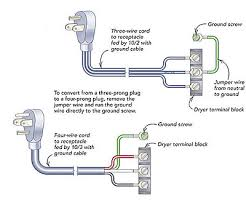 how to wire 220 outlet diagram wirdig dryer cord wiring diagram moreover 4 wire 3 prong dryer cord diagram