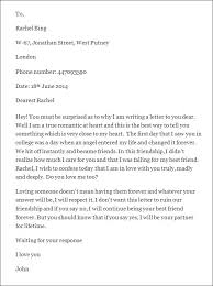 Love Proposal Letter for Her