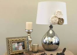mercury glass table lamp old watson set of 2