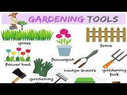 garden tools gardening tools names