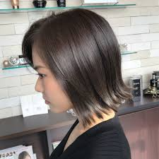 切りっぱなしボブのヘアカタログlantis Hairランティス ヘアー