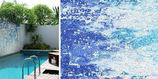 mosaic tile designs. Wonderful Designs Top Pool Design Tips  Abstract Splash Blue Water Inspired Glass Mosaic  Tile Patterns By Artaic For Mosaic Tile Designs
