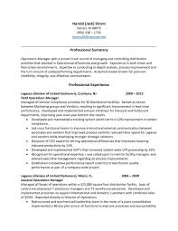 Sample Warehouse Manager Resume Resumesrehouse Manager Resume Download Management Sample 15