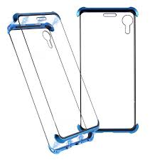 Frameless Magnetic <b>Luxury Protective Magnetic</b> Case For iPhone