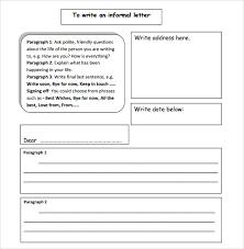 9 Sample Informal Letters Doc Pdf