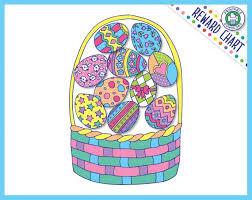 Download Reward Chart Easter Basket Reward Chart Printable Download