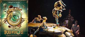 Cirque Du Soleil Kurios Grand Chapiteau At Sam Houston