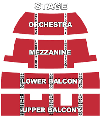 Strand Theater Boston Seating Chart Best Picture Of Chart
