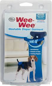 Wee Wee Diapers Size Chart Wee Wee Washable Diaper Garment Products Dog Diapers