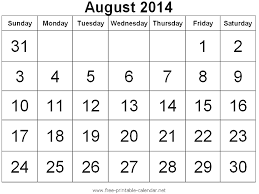 This beautiful calendar will help keep you organized while adding a pretty touch to your office space. Blank August 2014 Calendar Printable Templates August 2014 Calendar 2014 Calendar Printable Calendar Printables