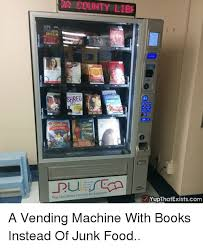 Vending Machine Accidents Enchanting COUNTY LIBE SHAM Pop Up Library Services For Everyone