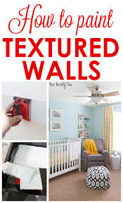 how to paint textured walls great tips and tricks