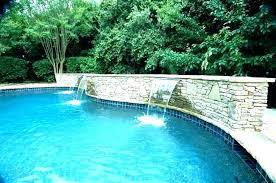 inground pool waterfalls. Waterfalls For Pools Inground Pool Fountain Ideas Swimming Rock Kits . E