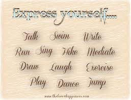 Quotes On Expressing Yourself Best Of Express YOURSELF THELOVE24HAPPINESS