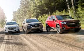Suv Safety Comparison Chart Mid Size Crossovers Compared Subaru Ascent And Chevrolet