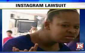 Confused Face' Meme Girl Keisha Johnson Suing Instagram For $500 ... via Relatably.com